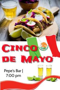 Cinco de mayo Bar flyer