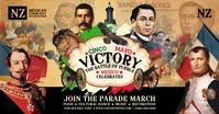 Cinco De Mayo Battle Parade Template Facebook Shared Image