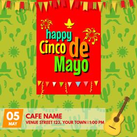 Cinco De Mayo Celebration template