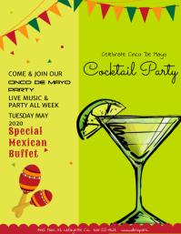Cinco De Mayo Cocktail Party Template