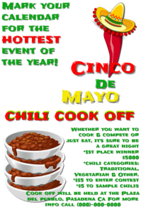 Cinco de Mayo Cook Off