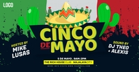 Cinco de mayo Facebook 共享图片 template