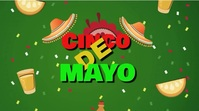 cinco de mayo Digital Display (16:9) template