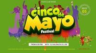 Cinco de Mayo Digital Display (16:9) template