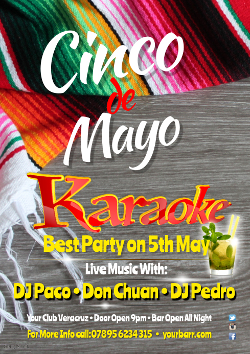 Cinco de Mayo Event Poster