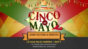 Cinco de Mayo Feast Banner Video
