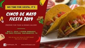 Cinco de Mayo Fiesta Bar Ad Banner
