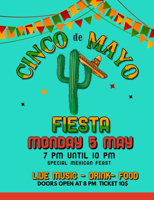 Cinco De Mayo Fiesta Template