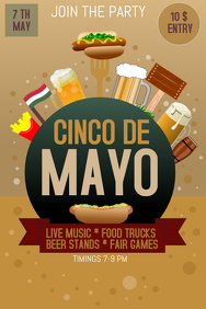 Cinco de Mayo Flyer, event flyer