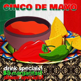 cinco de mayo flyer poster ad