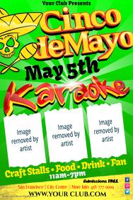 customizable design templates for cinco de mayo flyers postermywall
