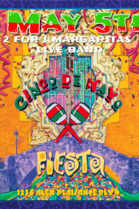 Cinco De Mayo Flyer 1