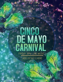 Cinco de mayo flyers,event flyers ,party flyers