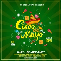 Cinco de mayo Instagram video template