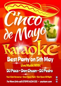 Cinco de Mayo Karaoke Poster