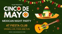 Cinco de Mayo Local Event Digital Party Invit template
