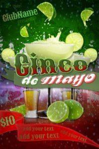 Cinco de Mayo Mexico Spanish Tequila Lime Fresh Margarita Party Event Theme May 5th