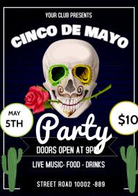 Cinco De Mayo Party A3 template