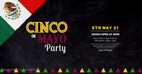 Cinco de Mayo Party Event Club Event Restaurant Bar Ad