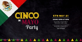 Cinco de Mayo Party Event Club Event Restaurant Bar Ad