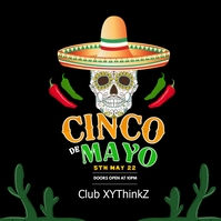 Cinco de Mayo Party Event Club Event Restaurant Bar square