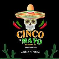 Cinco de Mayo Party Event Club Event Restaurant Bar square