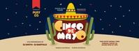 Cinco de Mayo Party Facebook Cover Photo template