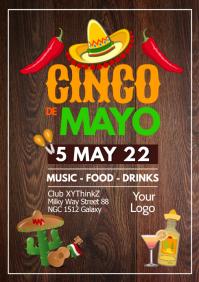 Cinco de Mayo Party Fiesta Event Club Event Restaurant Bar