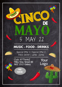 Cinco de Mayo Party Fiesta Event Club Event Restaurant Bar