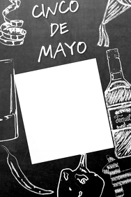 Cinco De Mayo Party Frame