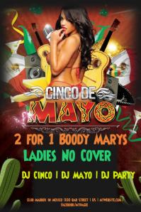 Cinco De Mayo Party Poster