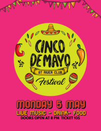 Cinco De Mayo Party Template