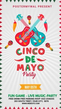 Cinco de mayo Party video Template