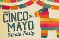 Cinco de Mayo Piñata Party Template Banner 4' × 6'