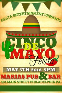 customize 200 cinco de mayo flyer templates postermywall