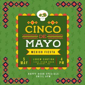 Cinco de Mayo Potluck Invitation
