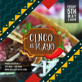 Cinco de Mayo Restaurant Deal Ad