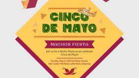 Cinco de Mayo Siesta Bar Ad Banner