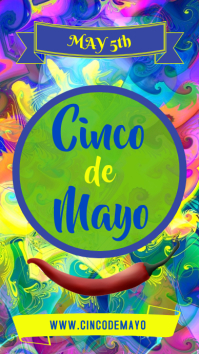 Cinco de Mayo Template Instagram Story
