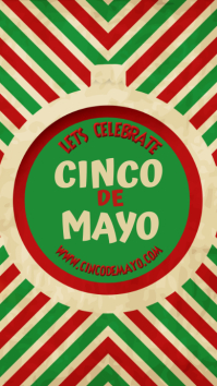 Cinco de Mayo Template Instagram-verhaal
