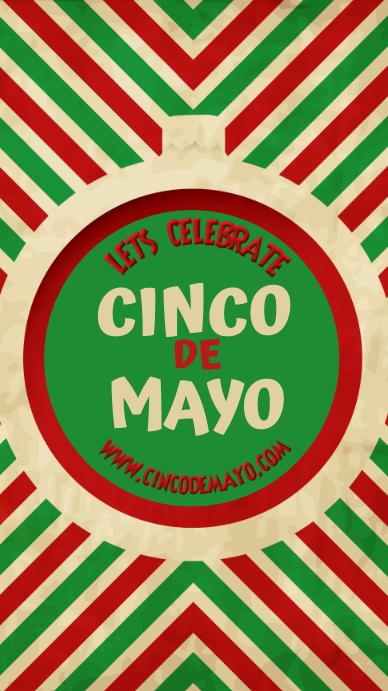 Cinco de Mayo Template Instagram-verhaal