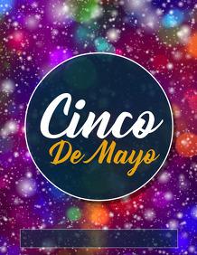 Cinco de Mayo templates,event flyer,party flyer