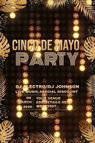 cinco de mayo video template,Carnival flyers