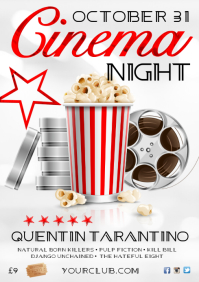 Cinema Night Poster
