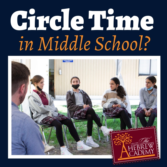 Circle Time in Middle School Instagram-bericht template
