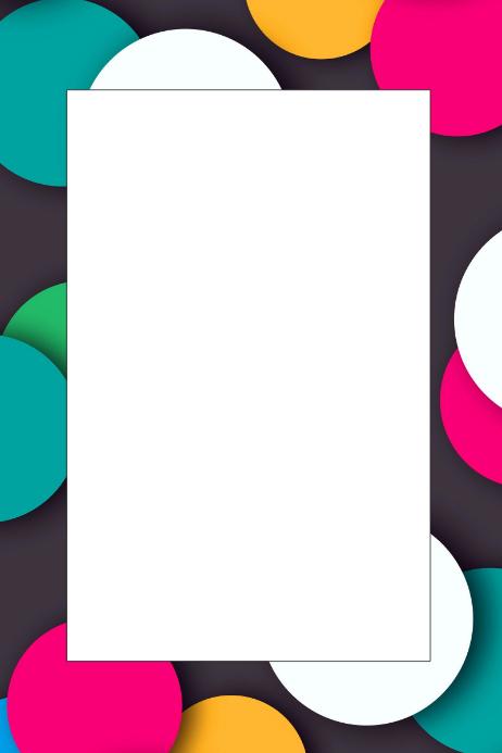 Circles Party Prop Frame
