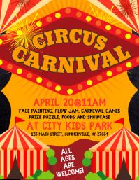 Circus Carnival Flyer