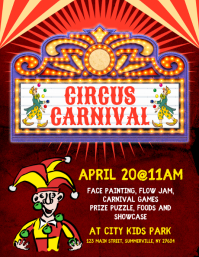 Circus Carnival Flyer