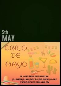 Cisco De Mayo video A4 template