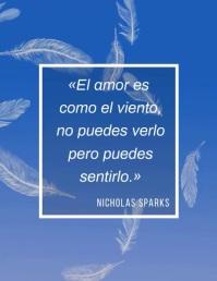 cita de Nicholas Sparks video volante